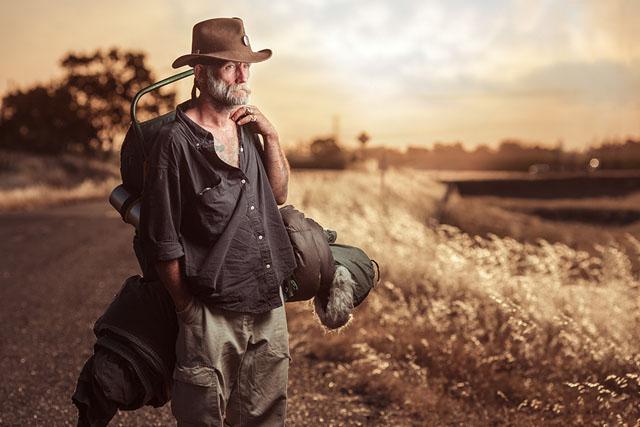 Homeless Portrait