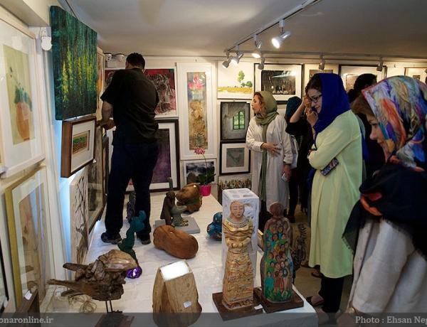 نمایشگاهی که مردم دوست دارند / آغاز صد اثر با فروش ۲۸ نقاشی و مجسمه